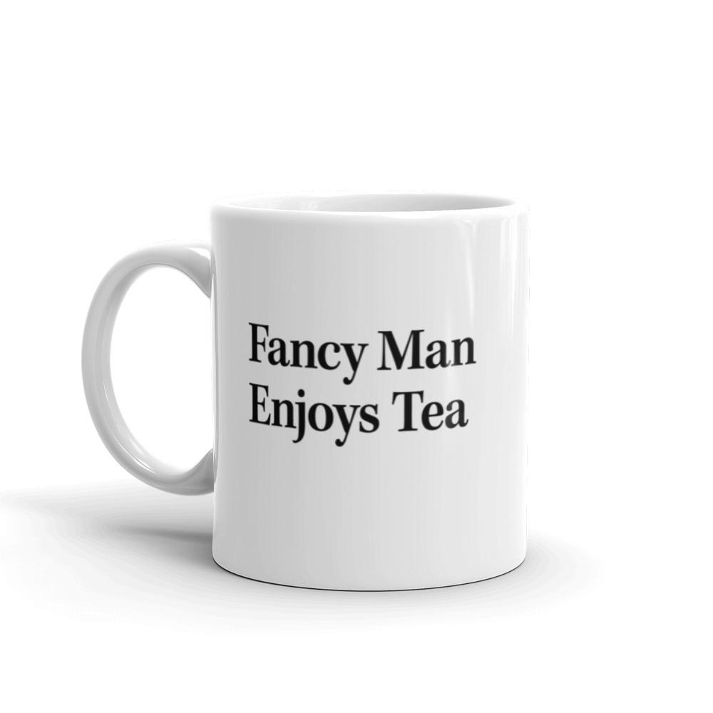 The Onion's 'Fancy Man Enjoys Tea' Coffee Mug