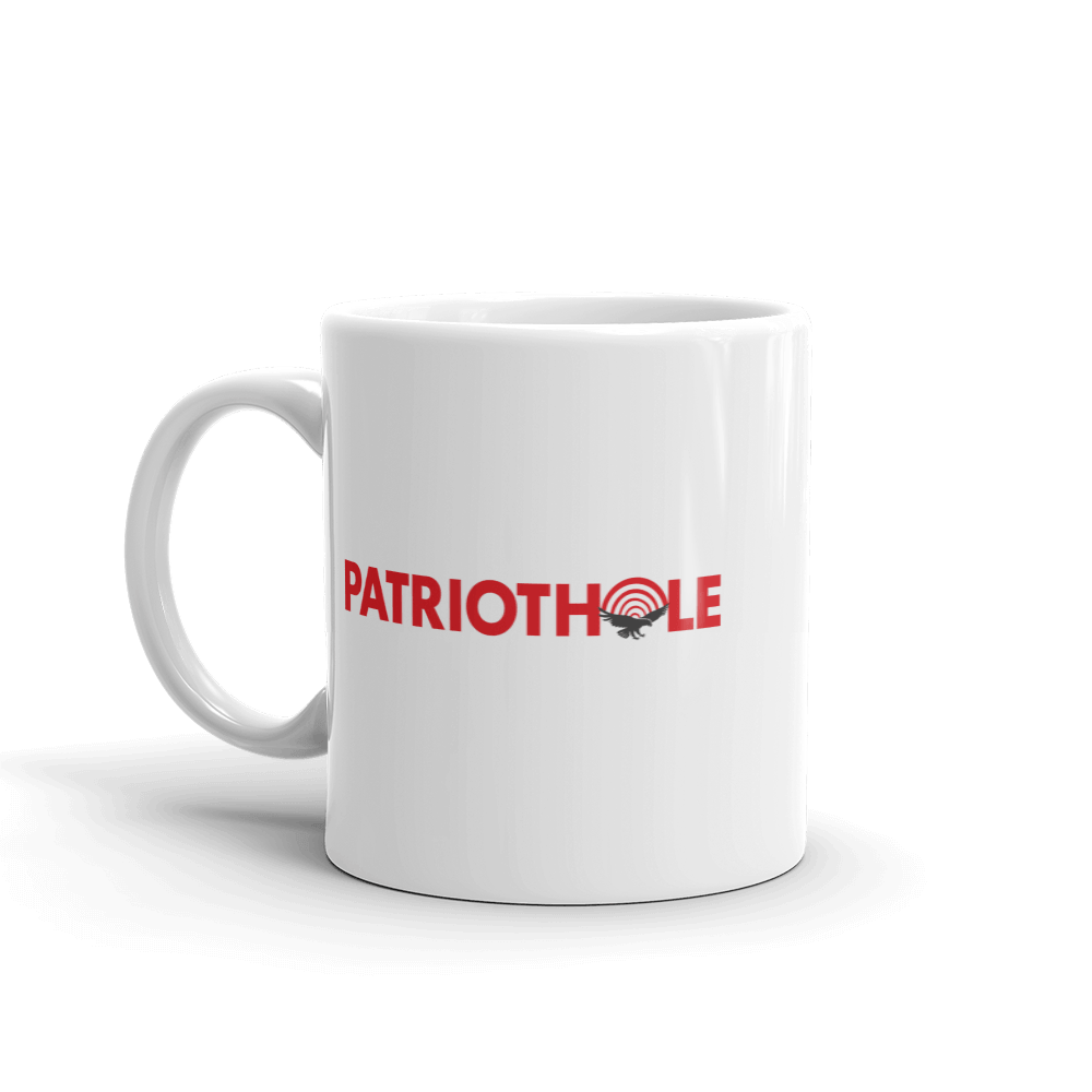 PatriotHole Logo Coffee Mug  from The Onion Store