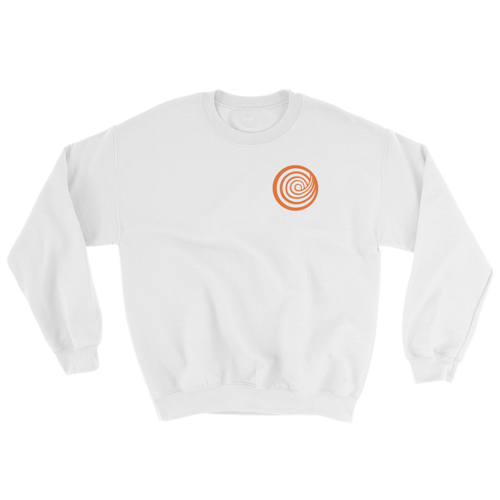 ClickHole's 'Small Swirl' Crewneck Sweatshirt White / 5XL from The Onion Store