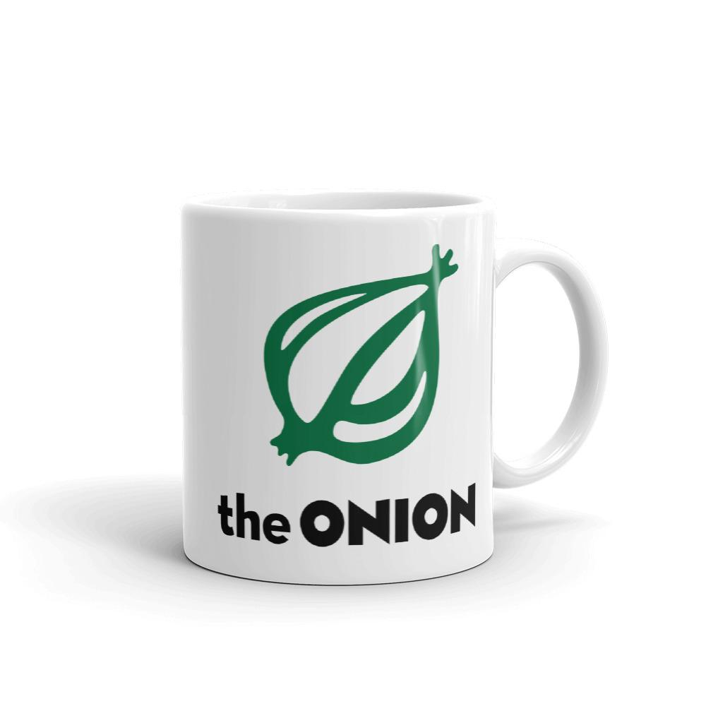 The Onion's 'I'm Reading The Onion' Coffee Mug