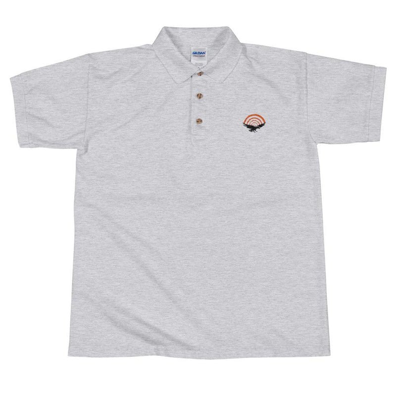 PatriotHole Logo Polo Shirt Sport Grey / 2XL from The Onion Store