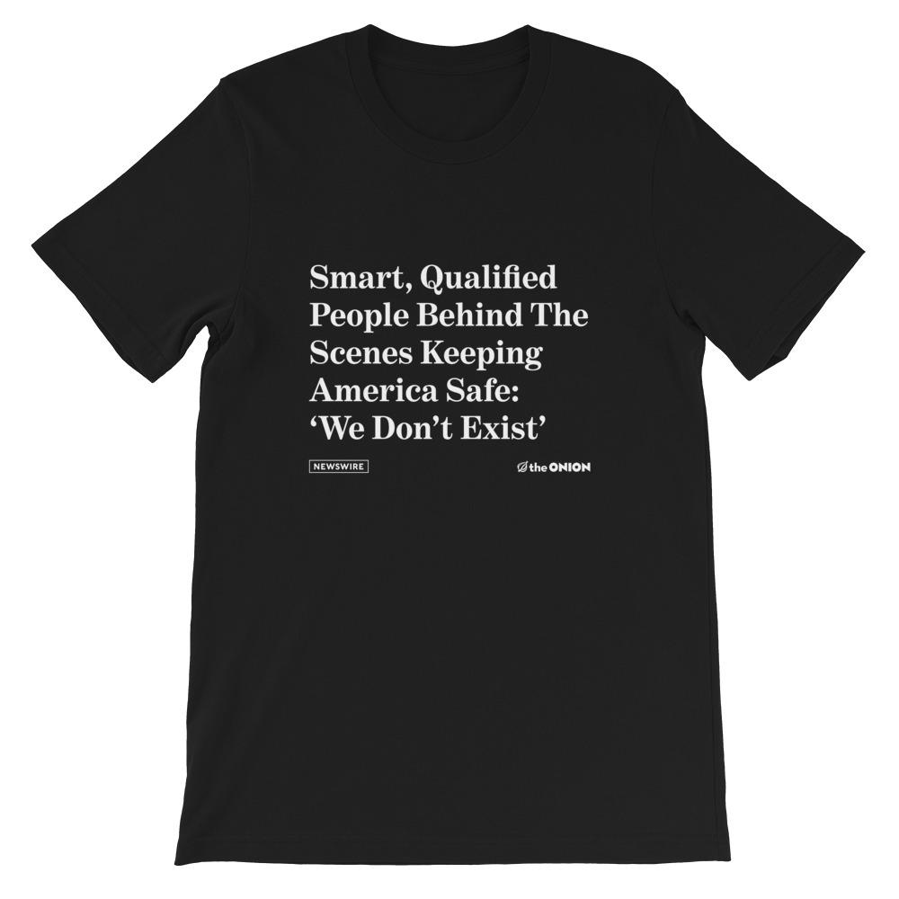 Smart Qualified People Unisex T-Shirt