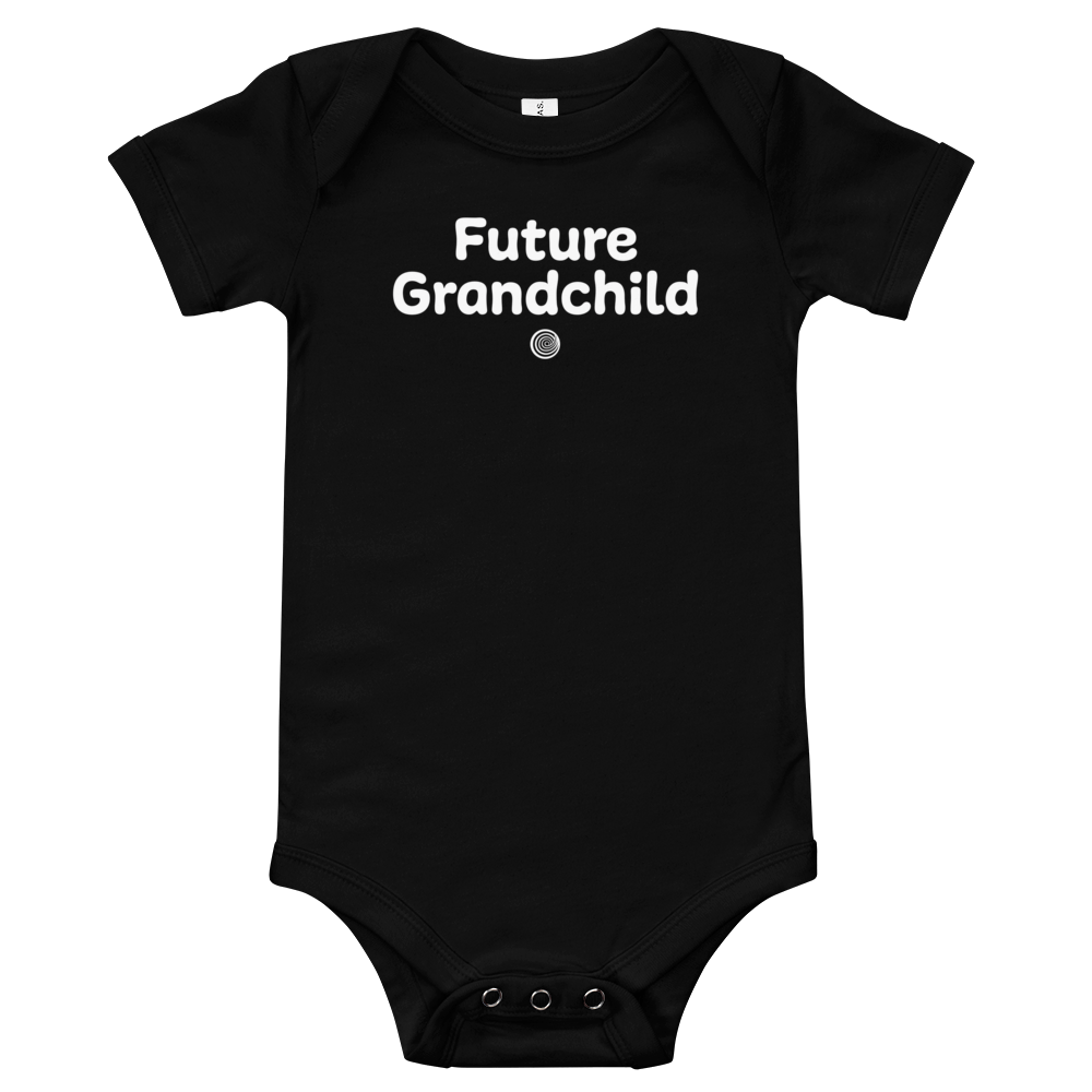 ClickHole's 'Future Grandchild' Onesie Black / 18-24m from The Onion Store