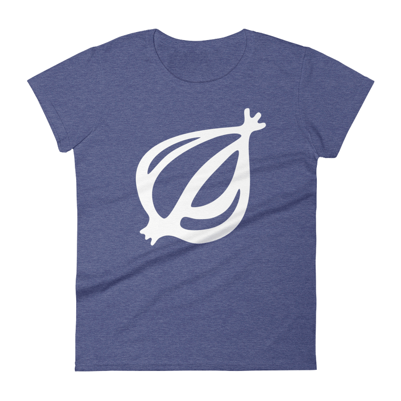 The Onion's 'Oversized Dingbat' Women's Cut T-Shirt Heather Blue / 2XL from The Onion Store