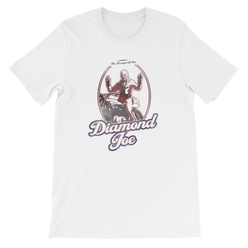 The Onion's Official Diamond Joe Biden Shirt White / 4XL from The Onion Store