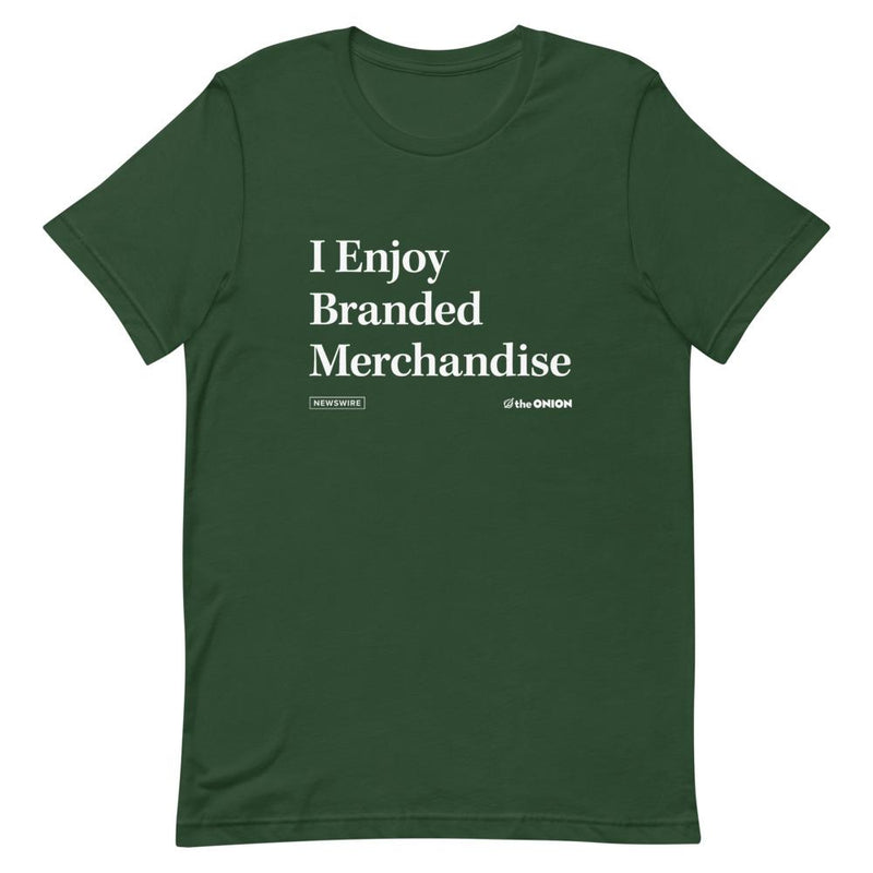 I Enjoy Branded Merchandise Headline T-Shirt