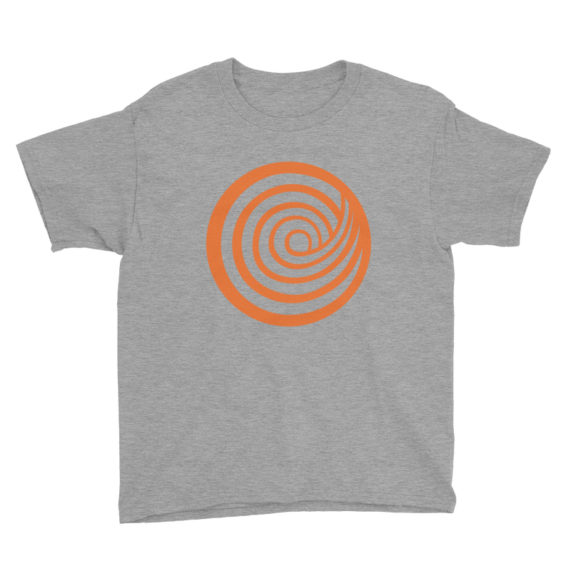 ClickHole Swirl Kids T-Shirt Heather Grey / XL from The Onion Store