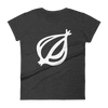 The Onion's 'Oversized Dingbat' Women's Cut T-Shirt Heather Dark Grey / 2XL from The Onion Store