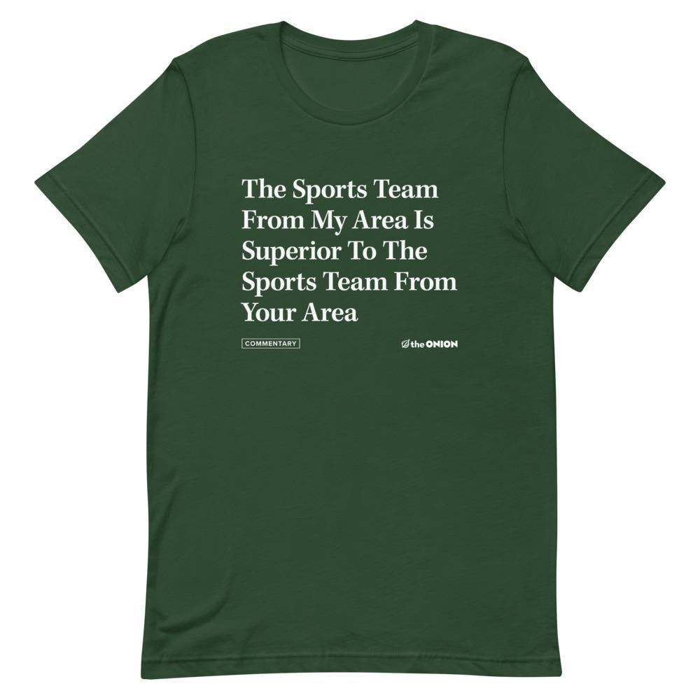 Your Favorite Sports Team Onion Headline T-Shirt
