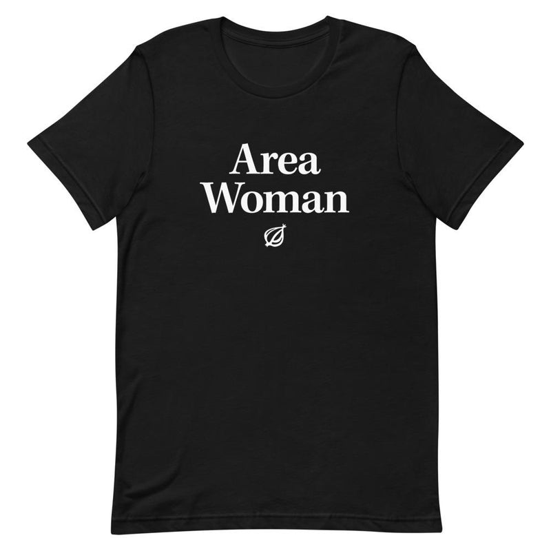 Area Woman Headline T-Shirt