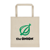Classic Onion Logo 'America's Finest News Source' Heavy Weight Tote Bag