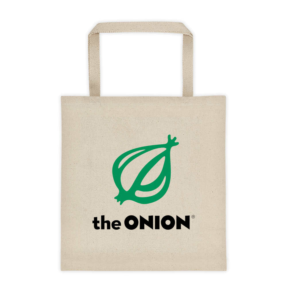 America's Favorite Heavyweight Canvas Tote Bag Default Title from The Onion Store