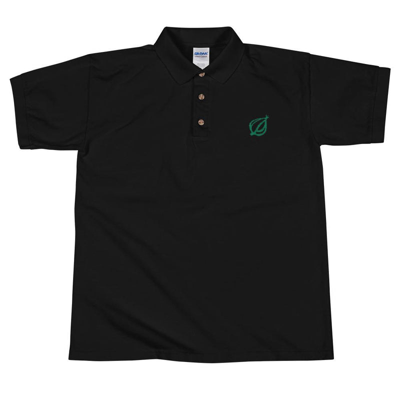 The Onion Dingbat Polo Shirt Black / 2XL from The Onion Store