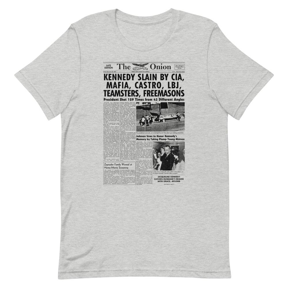 JFK Onion Front Page T-Shirt