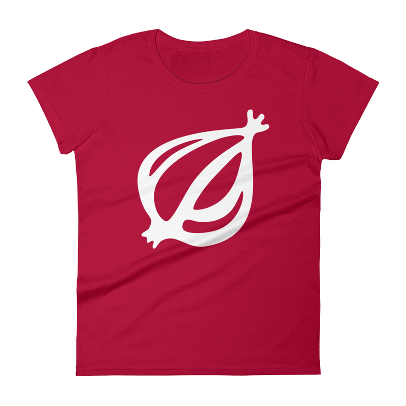 The Onion's 'Oversized Dingbat' Women's Cut T-Shirt Red / 2XL from The Onion Store
