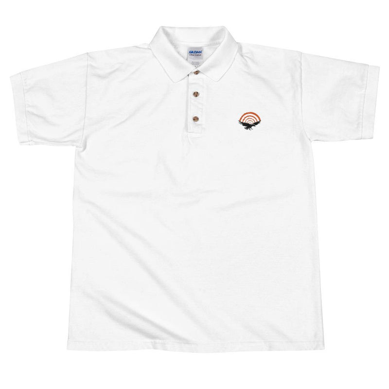 PatriotHole Logo Polo Shirt White / 2XL from The Onion Store