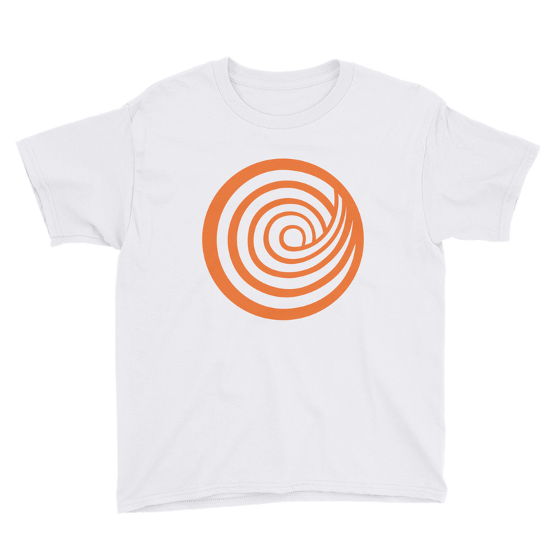 ClickHole Swirl Kids T-Shirt White / XL from The Onion Store