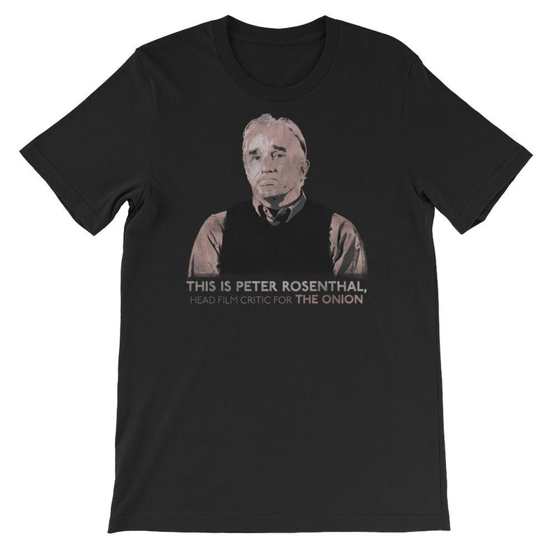 The Onion's 'This is Peter Rosenthal' T-Shirt Black / 4XL from The Onion Store