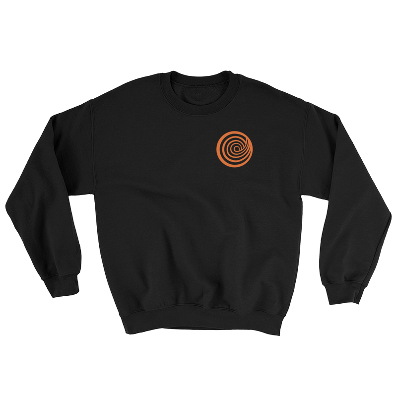 ClickHole's 'Small Swirl' Crewneck Sweatshirt Black / 5XL from The Onion Store