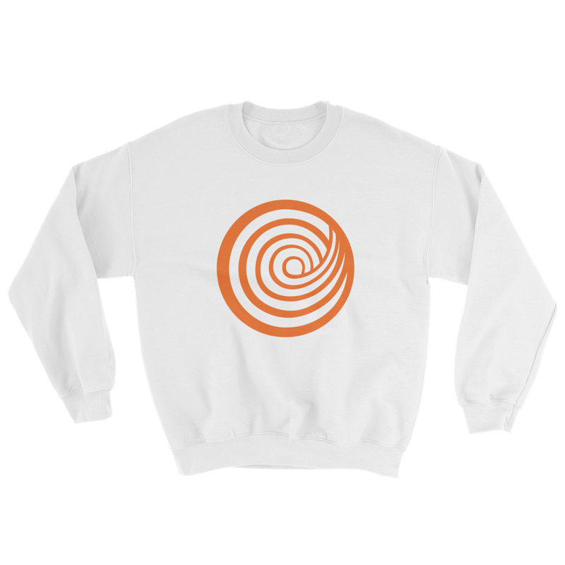 ClickHole Swirl Crewneck Sweatshirt White / 5XL from The Onion Store
