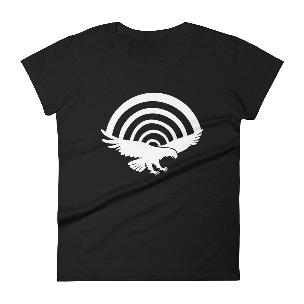 PatriotHole Logo Women's Cut T-Shirt Black / 2XL from The Onion Store