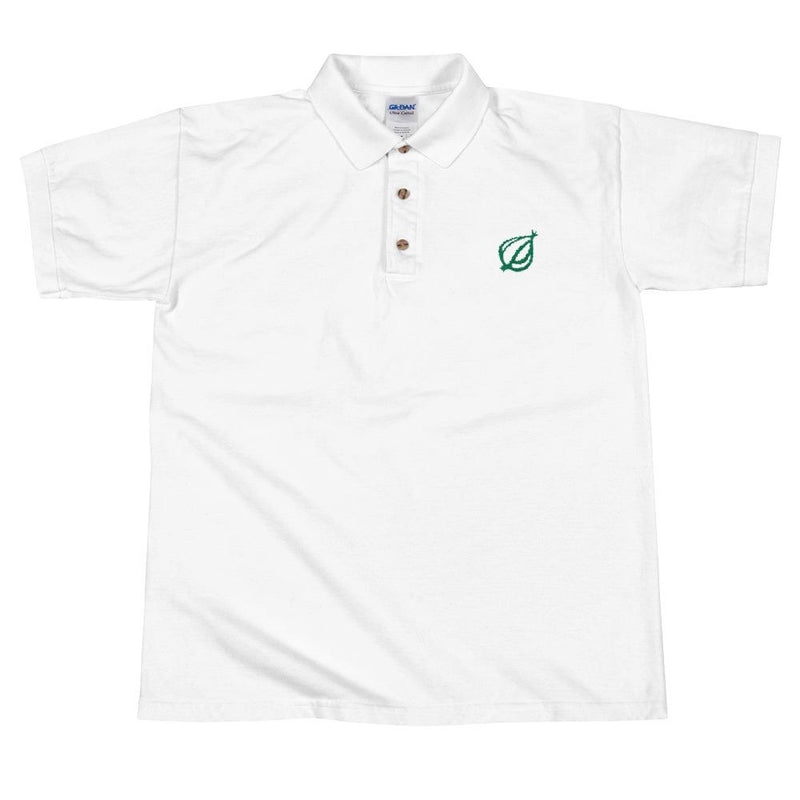 The Onion Dingbat Polo Shirt White / 2XL from The Onion Store