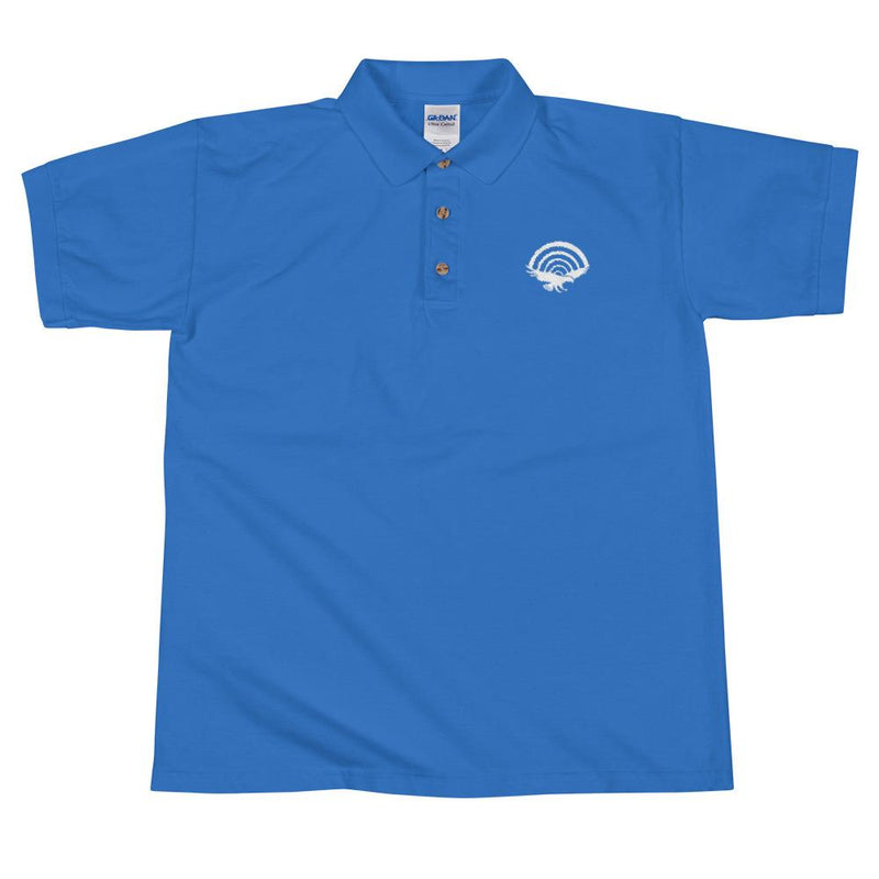 PatriotHole Logo Polo Shirt Royal / 2XL from The Onion Store