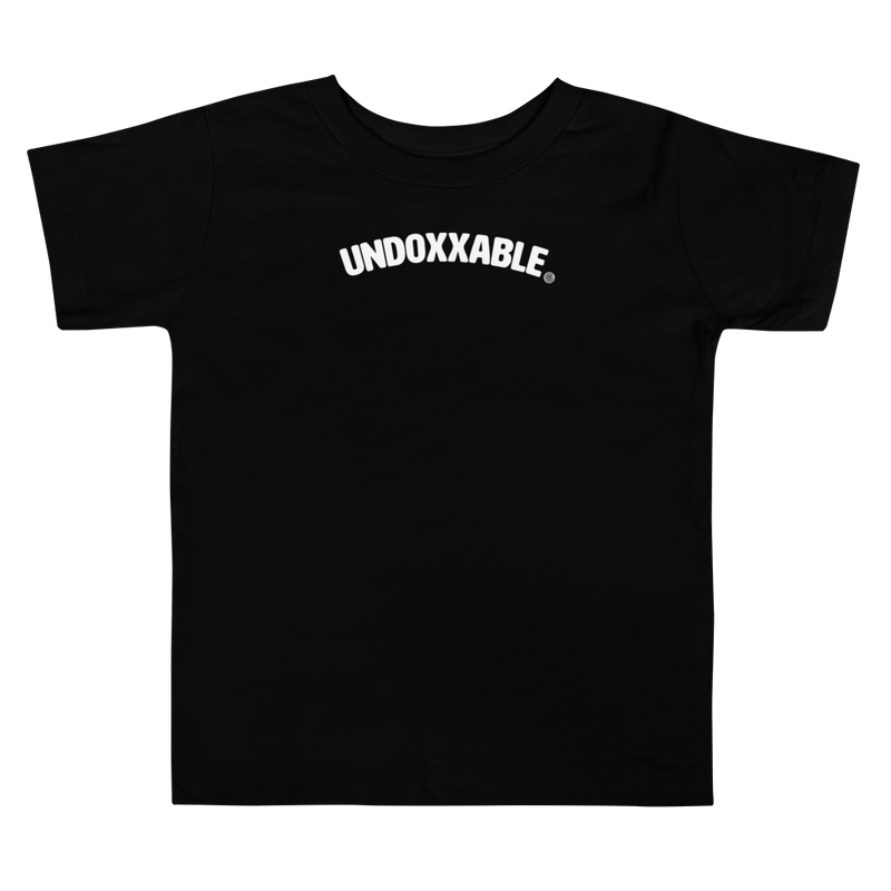 ClickHole's 'Undoxxable' Toddler T-Shirt Black / 5T from The Onion Store