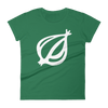 The Onion's 'Oversized Dingbat' Women's Cut T-Shirt Kelly Green / 2XL from The Onion Store