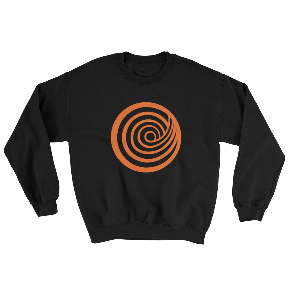 ClickHole Swirl Crewneck Sweatshirt Black / 5XL from The Onion Store