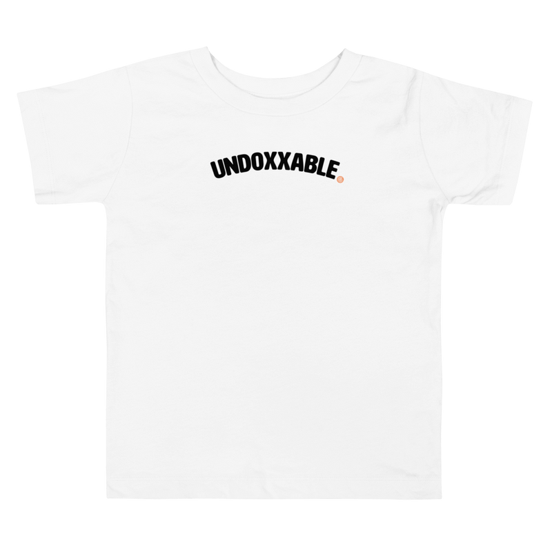 ClickHole's 'Undoxxable' Toddler T-Shirt White / 5T from The Onion Store