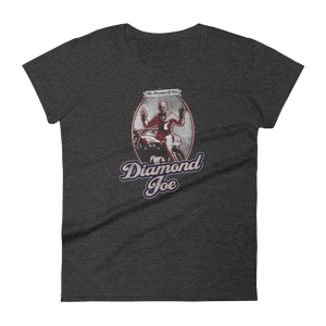 The Onion's Official Diamond Joe Biden Women's Cut Shirt Heather Dark Grey / 2XL from The Onion Store