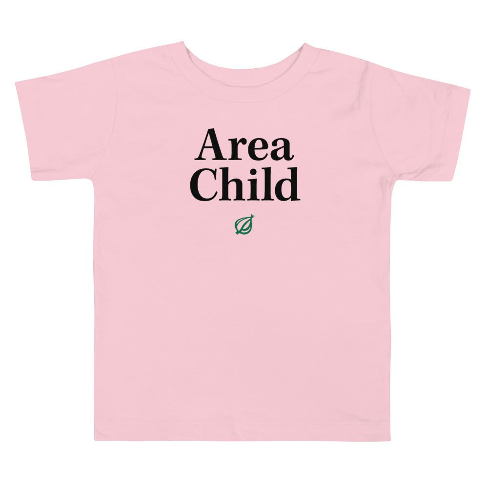 Area Child Headline Toddler T-Shirt