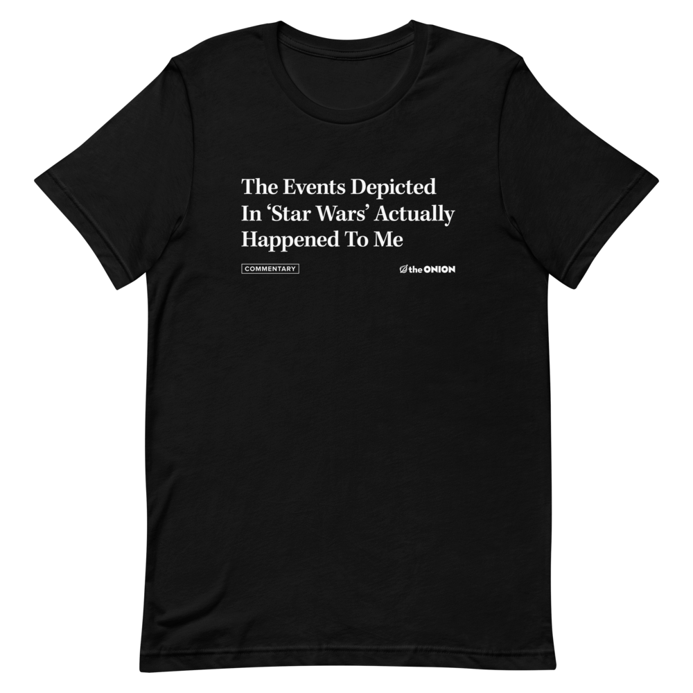 The Events Depicted In 'Star Wars' Headline T-Shirt