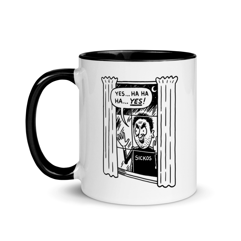 Cartoon Sickos Mug