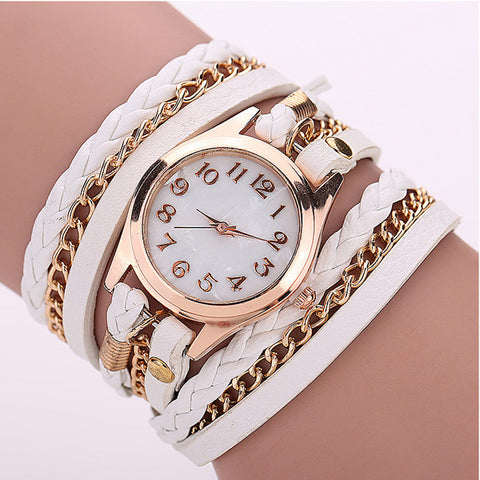 Gold Dial Watch Band