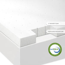 2 Inch Memory Foam Mattress Topper