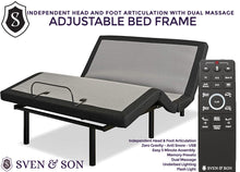 Classic Adjustable Bed Base + Jamison Bundle