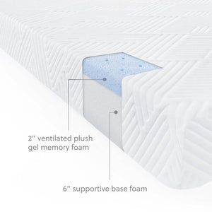 Wellsville 8 Inch Gel Foam Mattress
