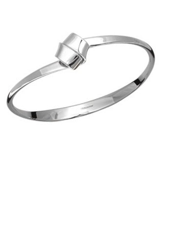 Sterling Silver Love Knot Braclet