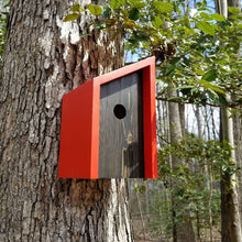 Load image into Gallery viewer, Minimalists Red Cedar and Pine Birdhouse