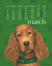 Load image into Gallery viewer, 2021 Dog Days Poster Calendar 11 X 14