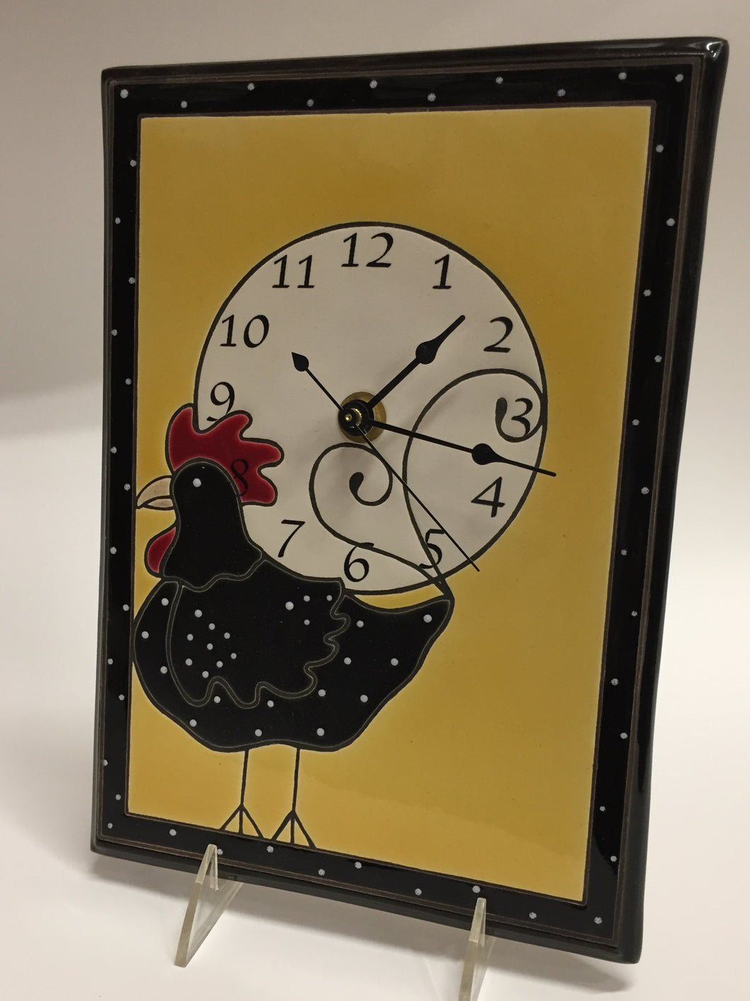 FUNKY CHICKEN Clock