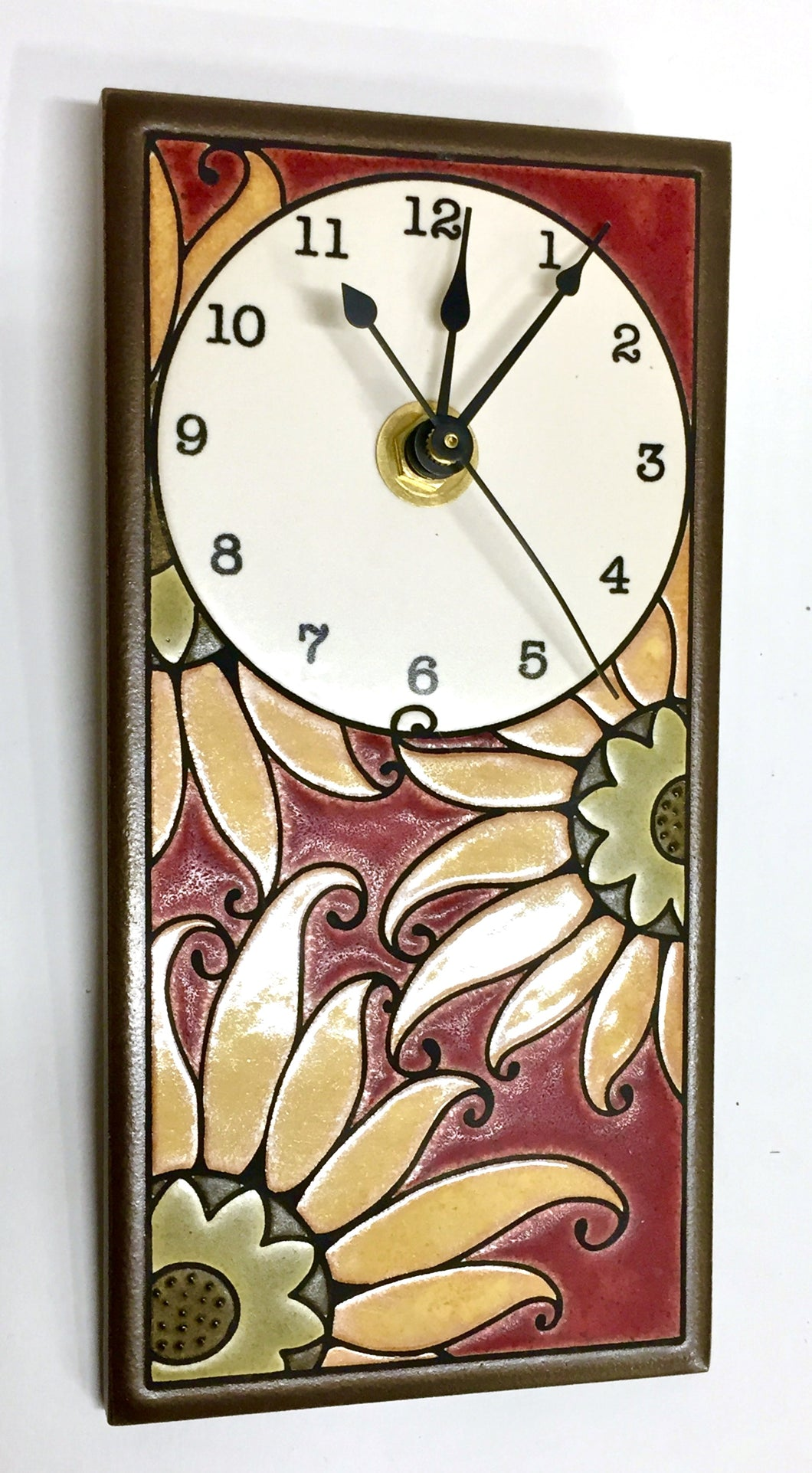 Mexican Sunflower Tall Clock