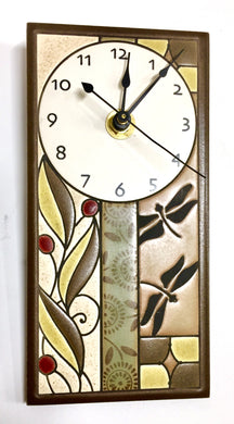 Summer Tapastry Tall Clock