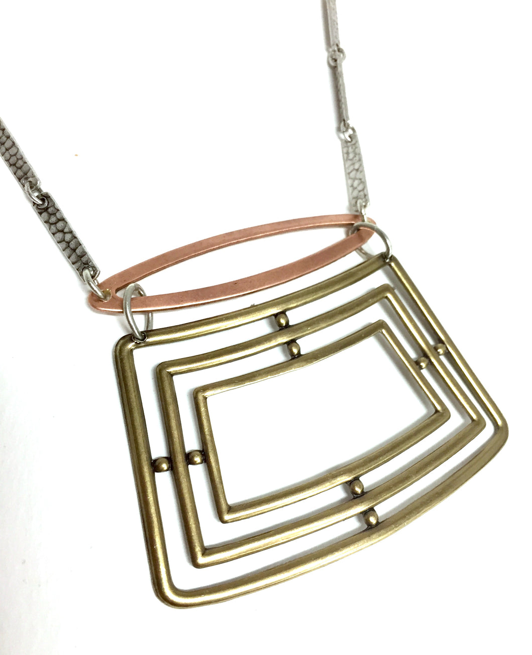 Necklace Concentric Rectangles