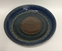 Load image into Gallery viewer, Pie Plate Amber Blue
