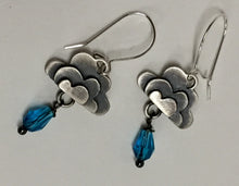 Load image into Gallery viewer, Cloud Earrings Silver