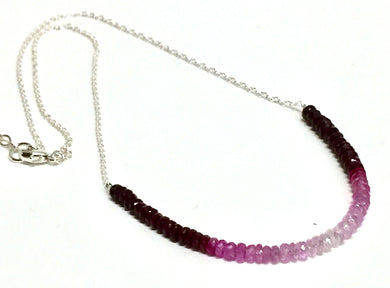 Necklace Ruby Fade