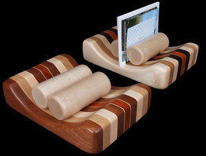 Wood Rollers Mail Holder